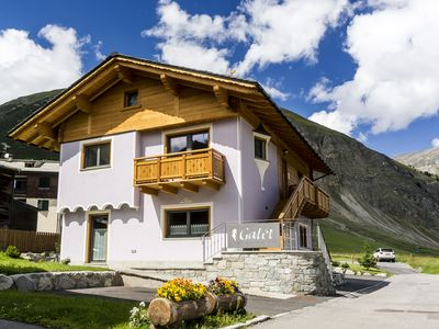 Photo for 'Galet' Mountain Chalet in Livigno **** - 3 rooms, tavern, turkish bath, Wi-fi