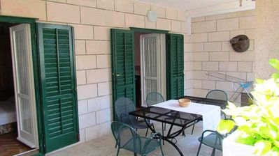 Photo for Holiday apartment with terrace near the beach