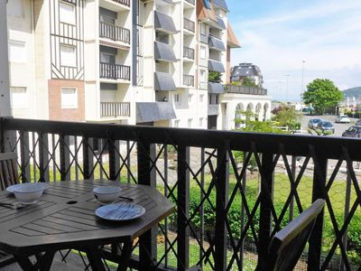 Photo for Apartment 226 m from the center of Cabourg with Lift, Internet, Washing machine, Balcony (92139)