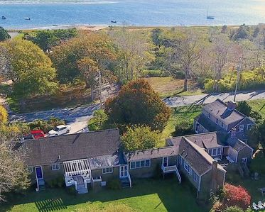 Substantial Chatham Estate, walk across the street to your private beach!
