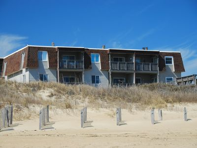 Photo for 2 Bedroom/2 Bath Oceanfront This single level condo is centrally located in Kill Devil Hills.