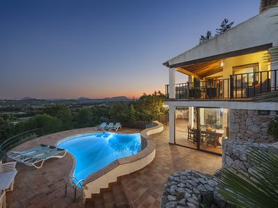 Photo for Villa El Vila - Property with amazing views in the mountains