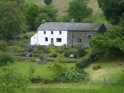 Photo for C17 farmhouse with spectacular views over Martindale and towards Ullswater.