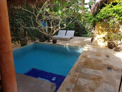 Photo for 3 Bedrooms quiet and peaceful by a creek with own small pool