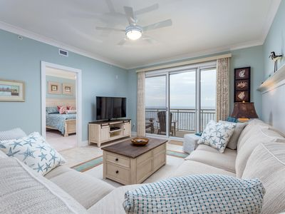 Photo for Enjoy magnificent ocean views from this luxurious condo that sleeps 10!