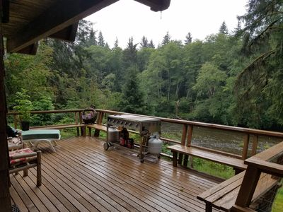 Photo for Cozy home on Sol Duc River! *sleeps 12!*
