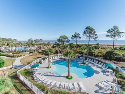 Photo for ⭐Remodeled Oceanfront Villa - South Forest Beach - Coligny Plaza - Sleeps 6⭐