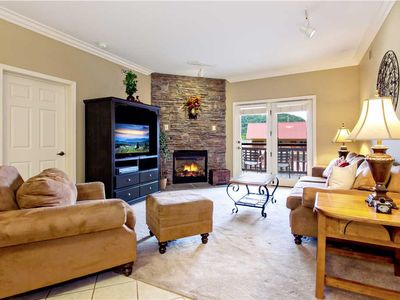 Photo for Baskins Creek 103: 2 BR / 2 BA condo in Gatlinburg, Sleeps 6