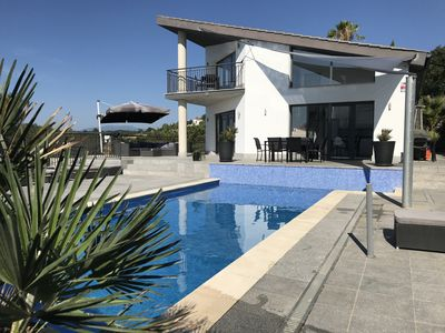Photo for Casa Rocalla. Villa in Lloret de Mar with amazing sea view