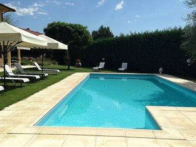 Photo for Villa Oscar: A pleasant and spacious two-story villa surrounded by the greenery, with Free WI-FI.