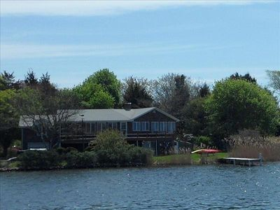 Photo for Waterfront Vacation Home with Dock, Located on Green Hill Pond
