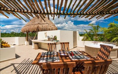 Photo for Casa Prieta Penthouse - Alluring ambiance with exclusive rooftop.