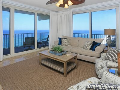 Photo for UNIT 1401   BEST BEACH VIEWS IN SHORES!