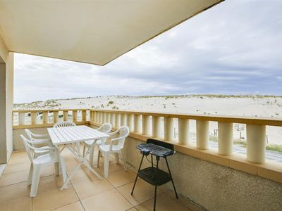 Photo for Biscarrosse Plage, apartment in a residence with pool for 4 people