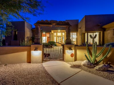 Photo for Immaculate Luxury Retreat In North Scottsdale Combining All Of Life's Luxuries
