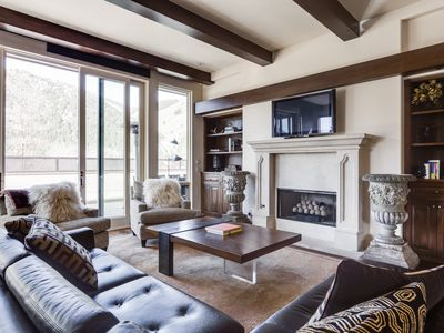 Photo for Modern luxury townhome in downtown Ketchum with mountain views