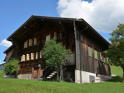 Photo for Apartment Pillon, Chalet  in Gsteig bei Gstaad, Bernese Oberland - 6 persons, 4 bedrooms