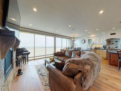 Photo for Dog-friendly, oceanfront home w/ easy beach access, beach toys, & stunning views