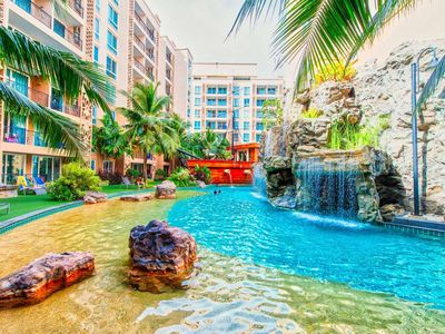 Photo for 5 star waterpark resort 300 meter from beach