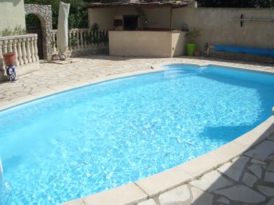 Photo for 3BR Villa Vacation Rental in Poussan