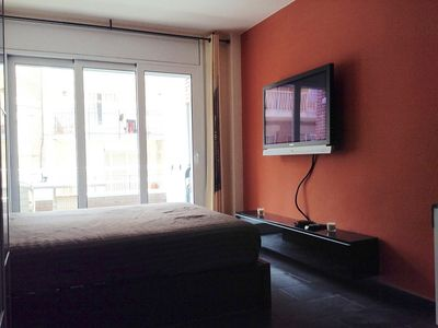 Photo for Luxury Studio for 2 persons, 200m to the beach, renovated with air conditioning, pool
