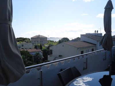 Photo for 3 ROOM LUXURY APARTMENT WITH AIR-CONDITIONNING, TERRACE AND SEA VIEW / 6 PERS.
