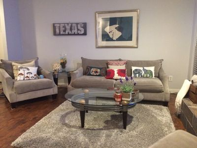 Photo for Beautiful Quiet 2Bd/2Ba Fully Furnished Condo in the Heart of Galleria