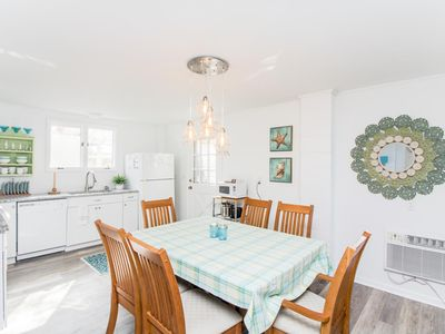 Photo for First floor unit in a quiet mid-island neighborhood, just one block from the ocean