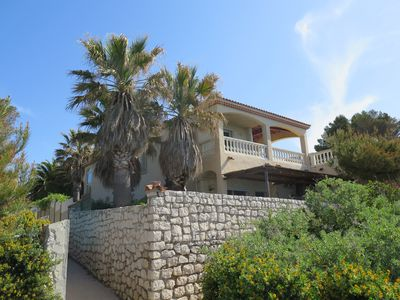 Photo for Villa feet in the water with stunning sea views