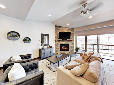 Photo for New 4BR Townhome w/ Hot Tub - Mins from Deer Valley & Park City Mountain