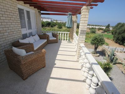 Photo for Villa on 2 floors with separate entrance great for families. Beach nearby