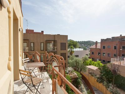 Photo for CHARMING APARTMENT IN GRÀCIA WITH BALCONY AND OPTIONAL PARKING FOR 4