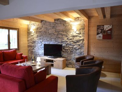 Photo for Châtel - charming cottage with outdoor spa