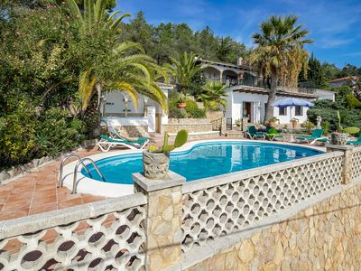 Photo for Private pool - sea views - the beach - family friendly - 8 to 10 people
