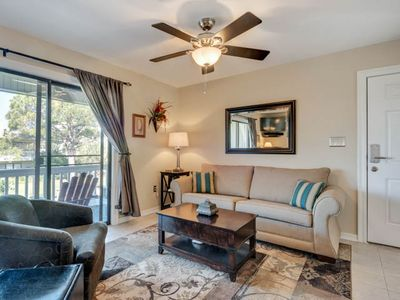 Photo for Quiet and comfortable newly renovated unit only steps away from the beach!