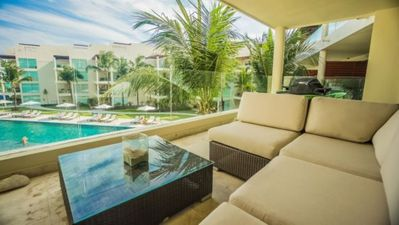 Photo for Great Ocean Views From This 3rd Story Condo At The Elements