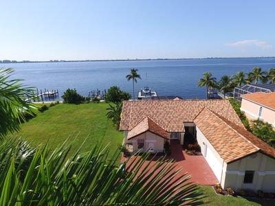 Photo for Villa Grand Bay - Dream location directly on the river with fantastic views