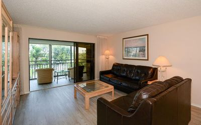 Photo for Chinaberry 943 - 2 Bedroom Condo with Private Beach with lounge chairs & umbrella provided, 2 Pools, Fitness Center and Tennis Courts.