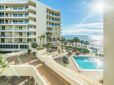 Photo for ☀East Pass 301-2BR☀BeachSide Pool & Hot Tub! Gulf Views-Jun 16 to 18 $850 Total!