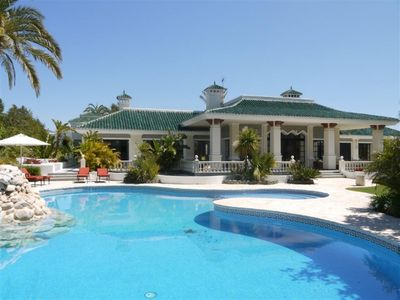 Photo for 10 bedroom Villa, sleeps 20 with Pool, Air Con and FREE WiFi