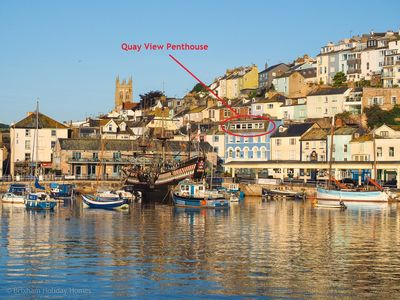 Photo for Quay View -  spectacular harbour views, dedicated parking, dogs welcome, free wi-fi