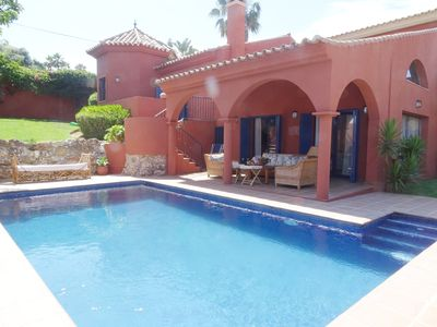 Photo for Villa Buenas Noches by Keywii. Villa with pool, wifi, sea views. Pets