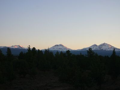 Photo for Stunning 3 Sisters Mountain View