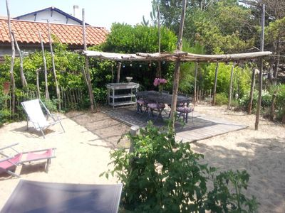 Photo for Charming house at the foot of the ocean - cap ferret center