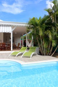 Photo for Ste-Anne VILLA MADININA, close to beaches, private pool, air conditioning, free WIFI