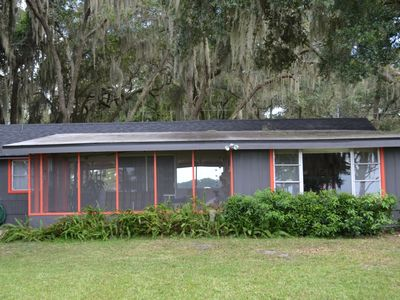 Photo for Lakefront Cottage with Dock and Sunset Views, Mount Dora