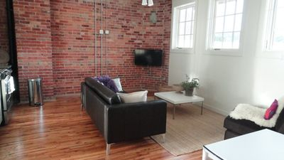 Photo for Luxury Loft in Downtown Asheville: chic, central, in the middle of all the fun!