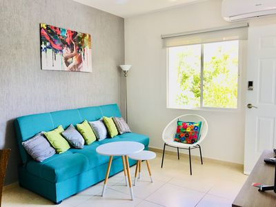 Photo for Beautiful apartment with Pool & Parking