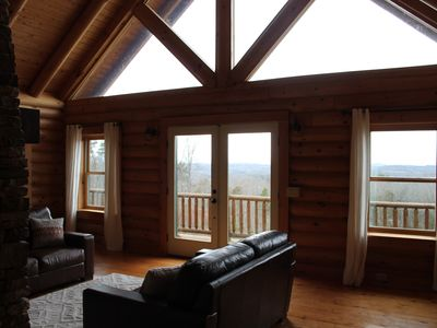 Photo for Secluded Cabin at BuckHead Farms
