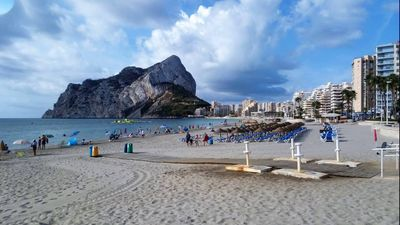"Photo for 4 **** Apartment ""La Fossa"" Calpe 50 meters from the beach."